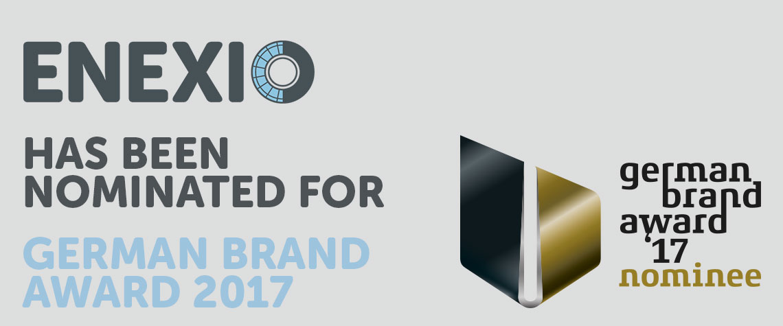 ENEXIO has been nominated for German Brand Award 2017