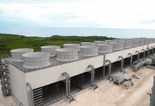 24 Cell cooling tower in Florida USA